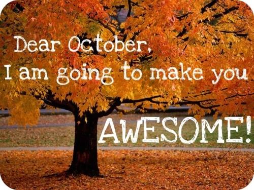 Amazing Hello October